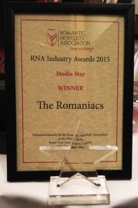 The Media Star Award 2015 goes to ... The Romaniacs!